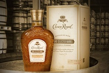 Bottle of Crown Royal whiskey